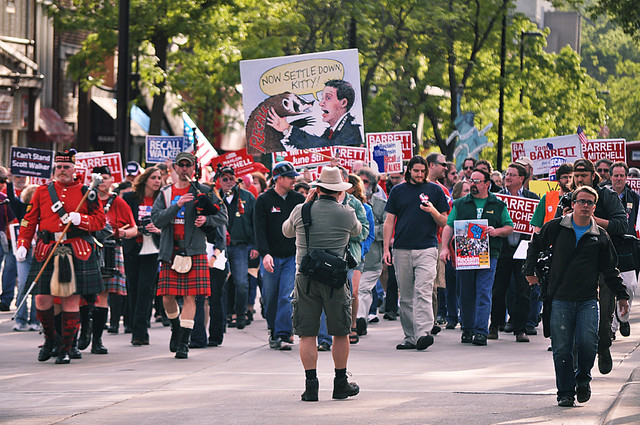 Badgers United Against Scott Walker Won't Settle Down Until He's Gone