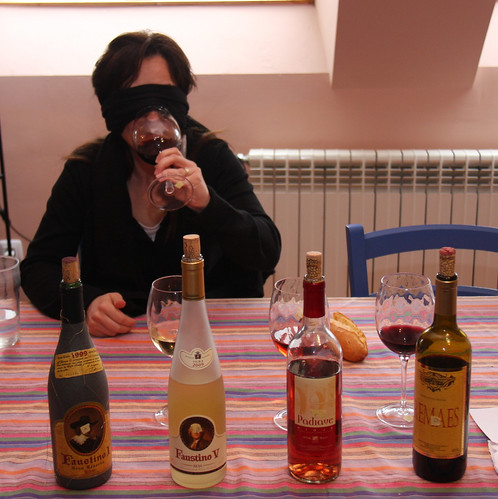 Blind Wine Taste Test