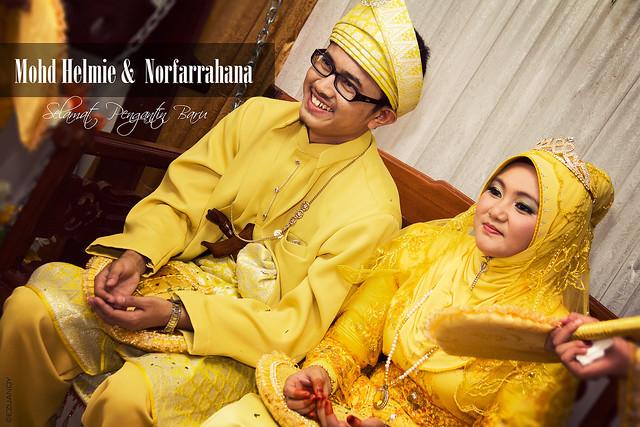 Reception : Mohd Helmie & Nurfarrahana