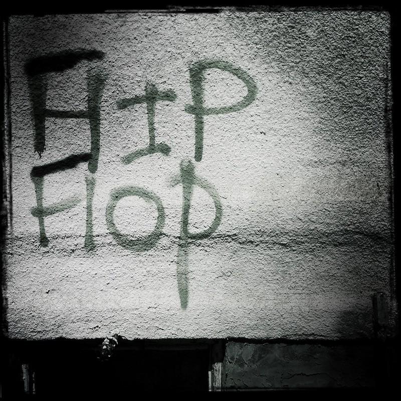hip hop flip flop