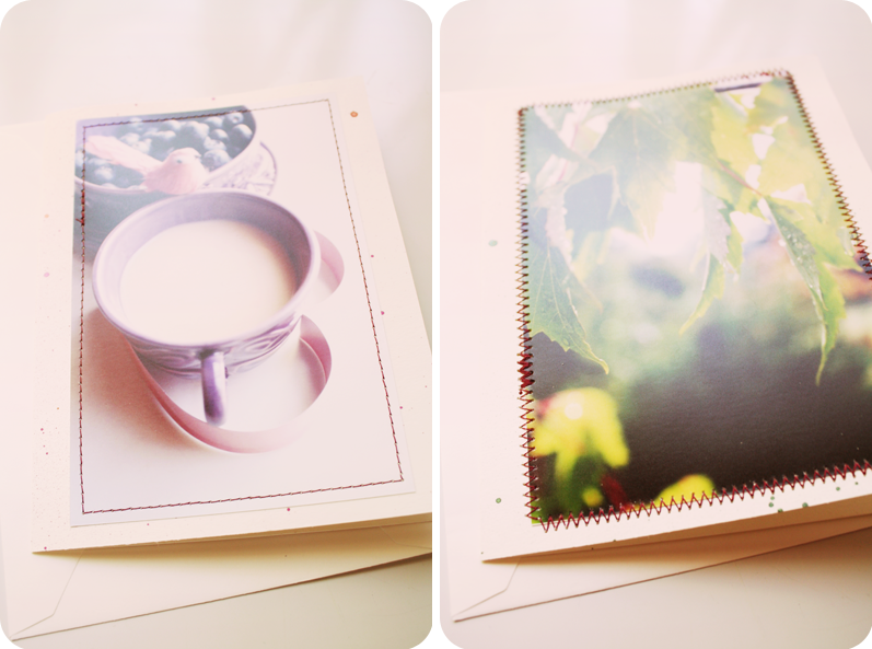 {note card} blueberry tea | sunshine
