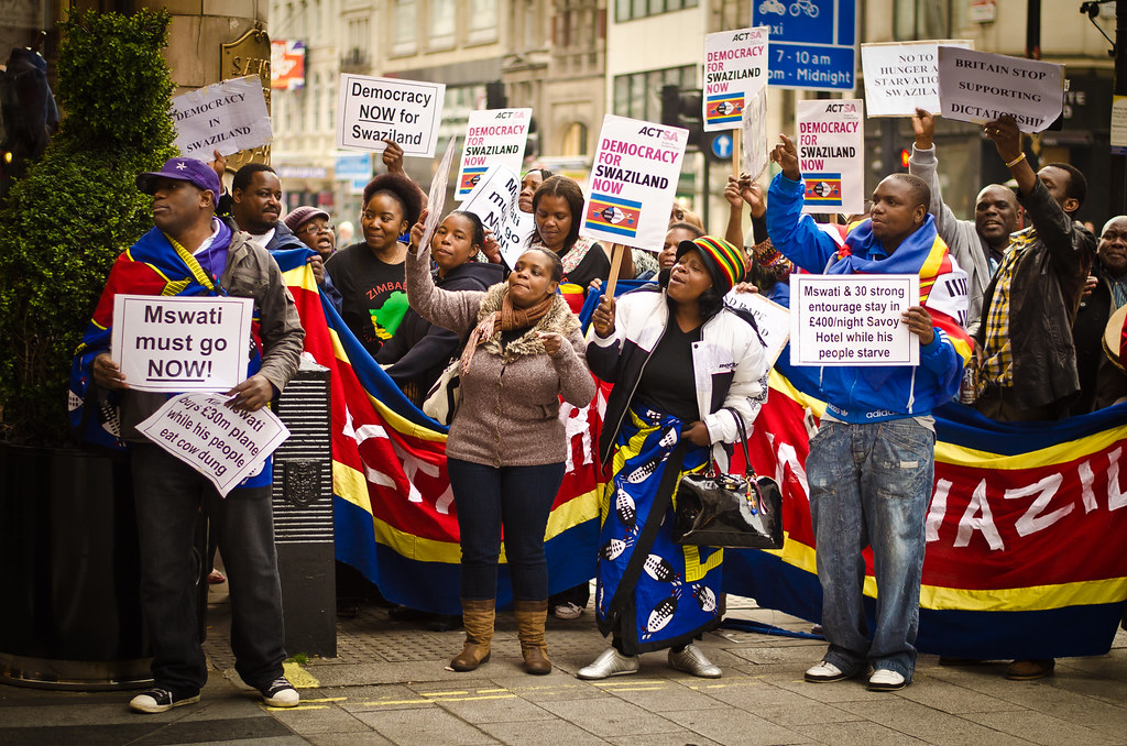 Swaziland Protest