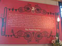 The Pedal Pusher, Christchurch, New Zealand