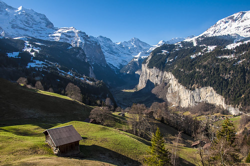 Jungfrau, Lauterbrunnen Wall and Valley