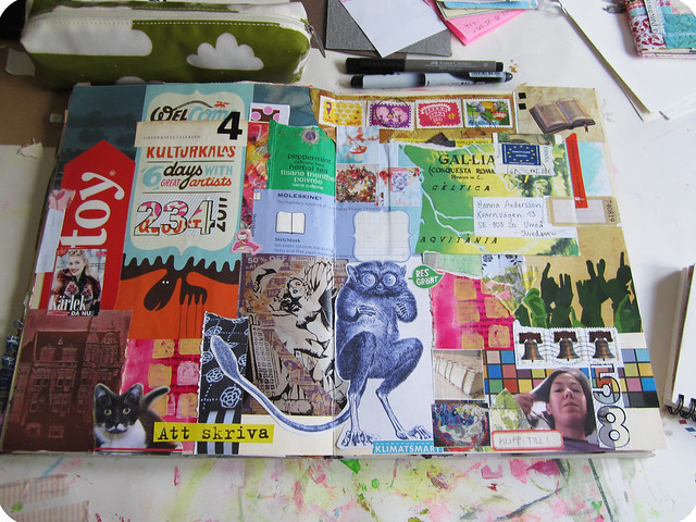 Art journal: Kulturkalas