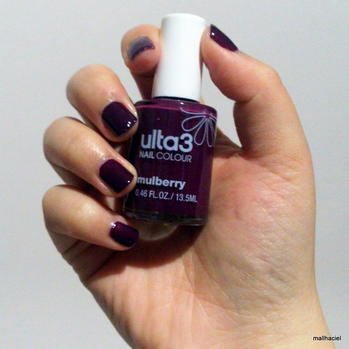ulta 3 nail colour - mulberry