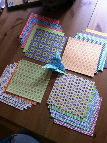 Origami paper!