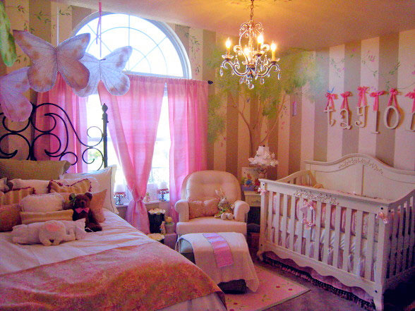princess nursery decor