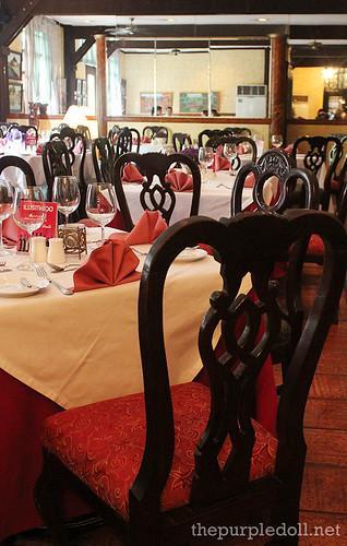 Ilustrado Restaurant Main Dining