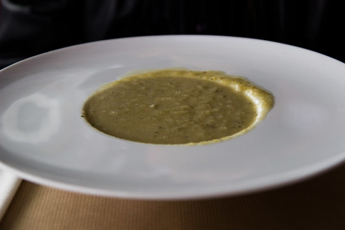 Leek Soup at Cul de Poule