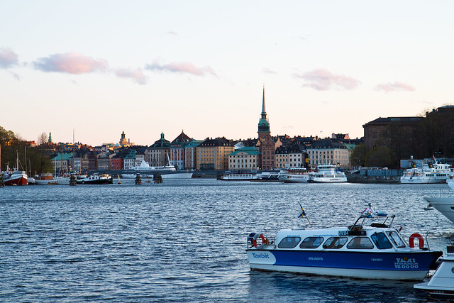 Stockholm. Evening view