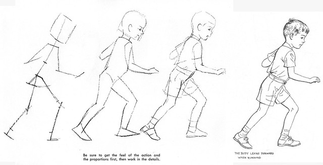It's just a graphic of Resource Boy Running Drawing