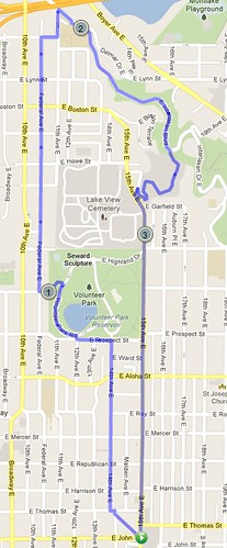 Today's terrifying walk and hike, 3.79 miles in 1:20 by christopher575