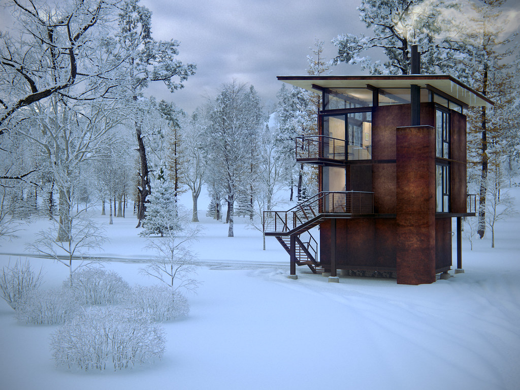 Delta shelter for Winter cabin plans