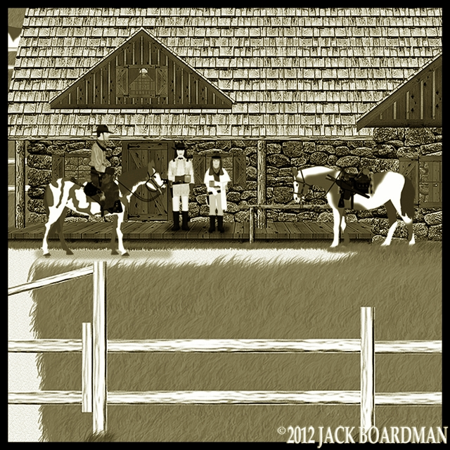 Cooper arrived at Coldwater Ranch ©2012 Jack Boardman