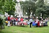 Jubilee Lunch in Albert Square South Lambeth SW8