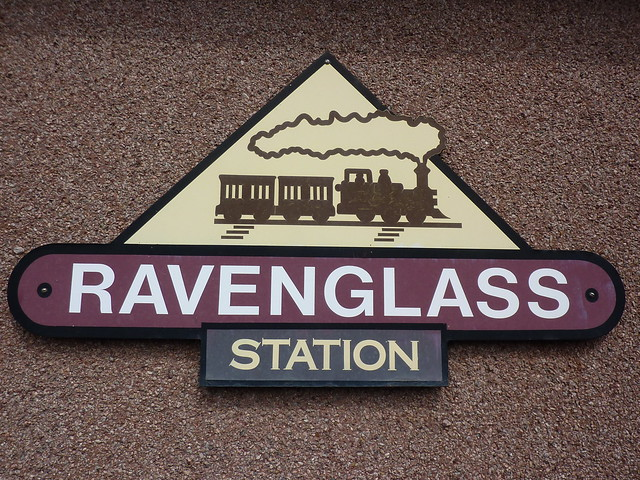 Ravenglass Railway Station sign