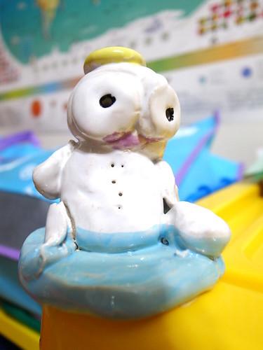 陶土小雪人