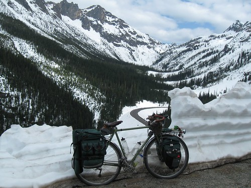 Tour 2012 Day 20 - Heading down Washington Pass