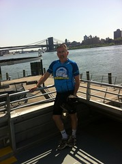 300 miles to D.C.: Saying goodbye to NYC and the Brooklyn Bridge on May 19