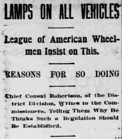 Lamps Headline (1896)