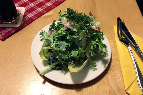 Salatteller / Salad dish