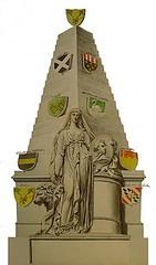 <p>Een anonieme aquarel waarop het grafmonument van Joan Gideon Loten in Westminster Abbey is afgebeeld (Coll. Het Utrechts Archief).</p>