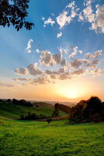 sunset sky cloud soleil ciel nuage hdr coucherdesoleil gers