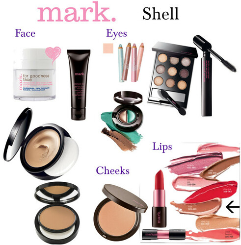 mark. makeup monday - shell