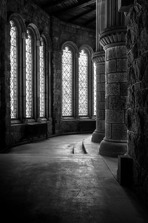 Ambulatory, St. Conan's Kirk. Loch Awe, Scotland.