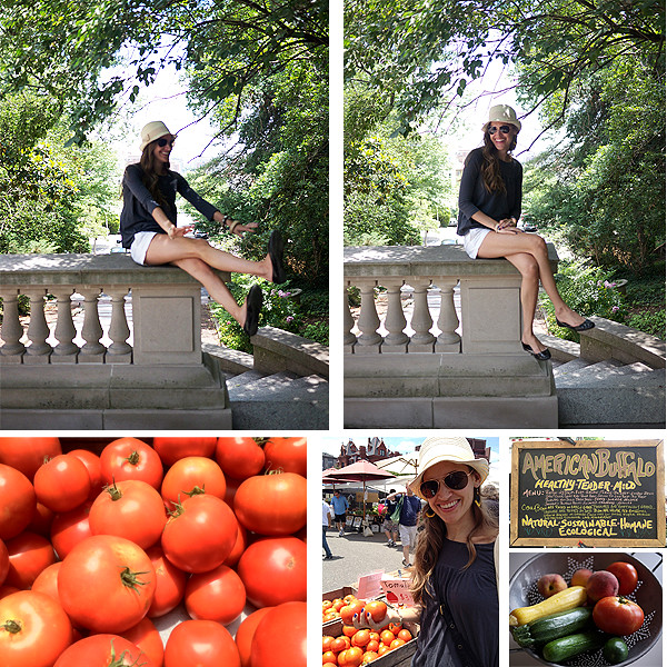 fair vanity, farmers market, Rachel Mlinarchik, fashion blog