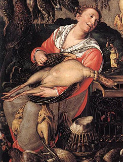 Vicenzo Campi: Chicken Vendors, 1580's Pinacoteca di Brera, Milan