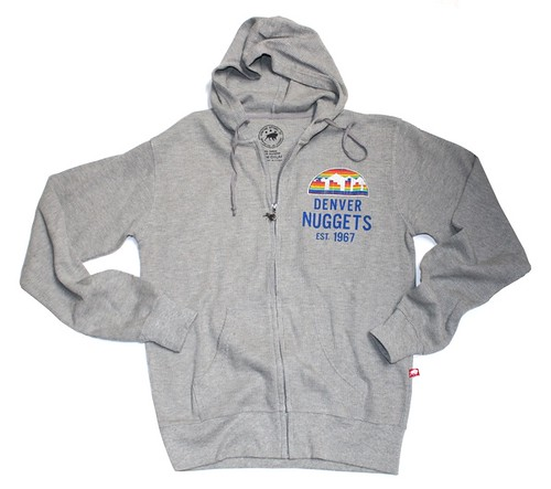 Denver Nuggets Hoodie By Sportiqe