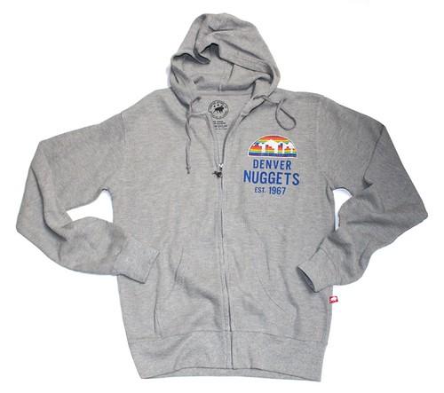 Denver Nuggets Hoodie By Sportiqe