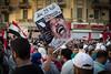 Egypt's president-elect Mohammed Morsi at Tahrir Square