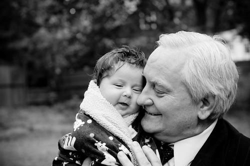 ::with his grandpa::