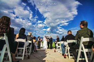 White, Fluffy Wedding :)