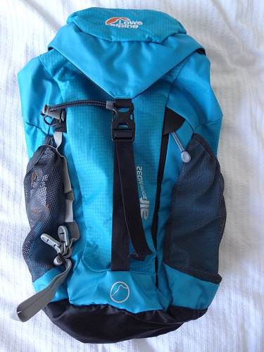 I bought a new daypack....