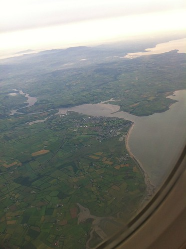 Youghal from the air by despod