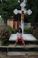 Marziya Shakir street photographer and Jesus get along pretty well by firoze shakir photographerno1