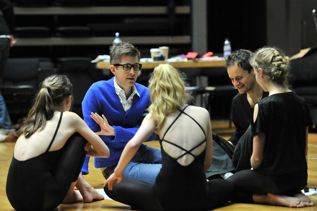 Gareth Malone in rehearsals for Hot House © ROH 2012