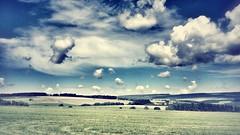 [フリー画像素材] 自然風景, 田園・農場, 雲, 風景 - デンマーク ID:201207061200