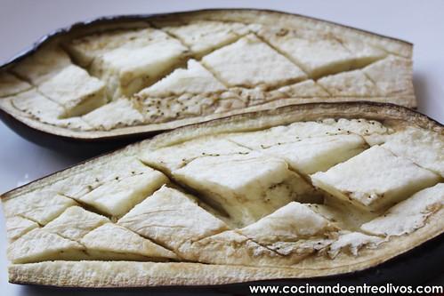 Berenjenas rellenas de carne picada y champiñones (7)
