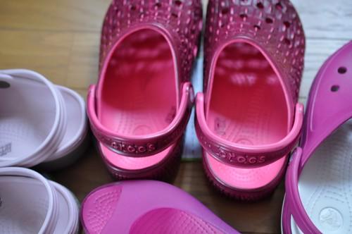 クロックス ピンク