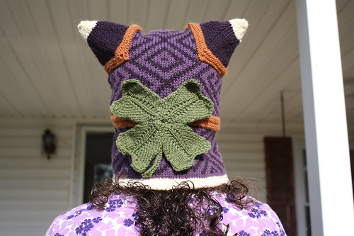 Hat with Clover