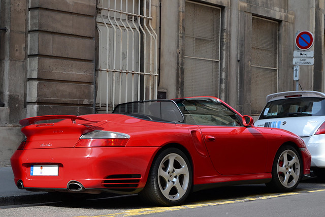 Porsche 911 Turbo Cabrio (996)