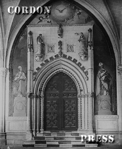 Capilla de San Blas en el Claustro de la Catedral de Toledo hacia 1875-80. © Léon et Lévy / Cordon Press - Roger-Viollet
