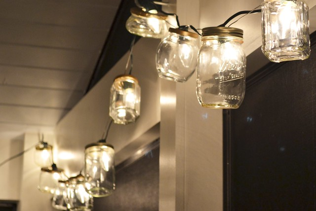 Diy Today And Yesterday Mason Jar String Lights