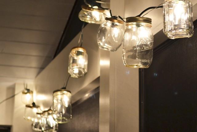 Diy today and yesterday mason jar string lights mason jar string lights mozeypictures Choice Image