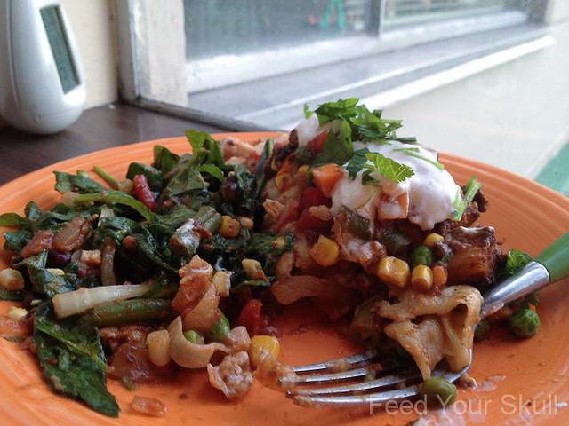 Tofu and Vegetable Mole Sauced Enchiladas | Flickr - Photo Sharing!
